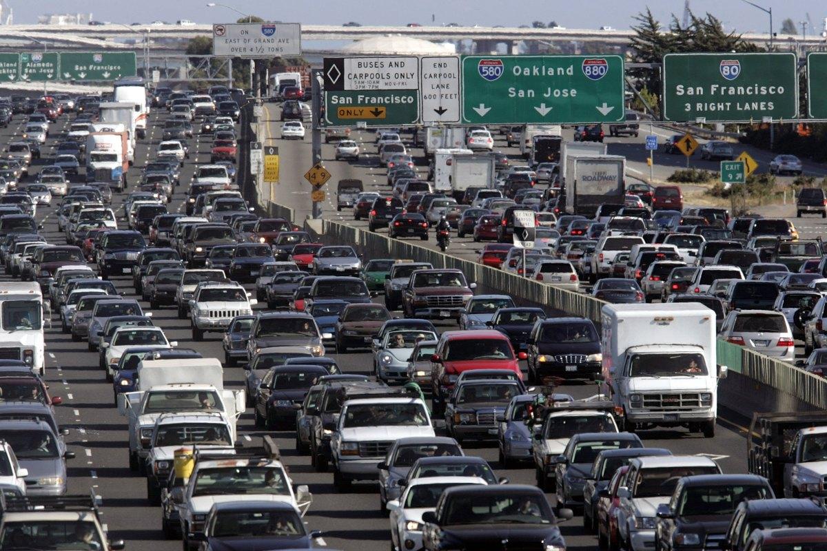 Image result for San Francisco Traffic Jam