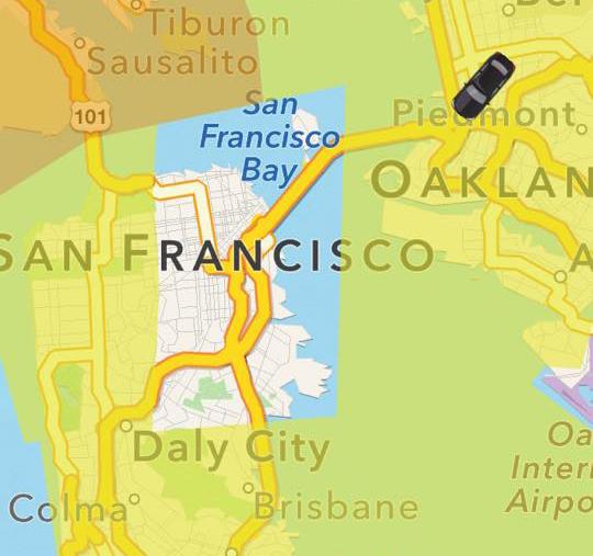 Surge Pricing I Drive SF - Uber heat map us