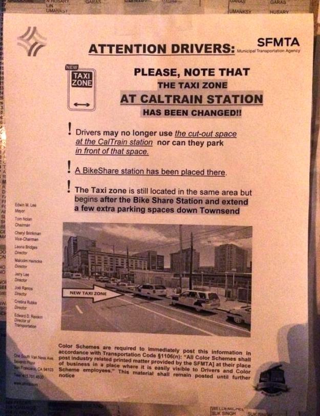 caltrain_cab_stand_SFMTA_notice