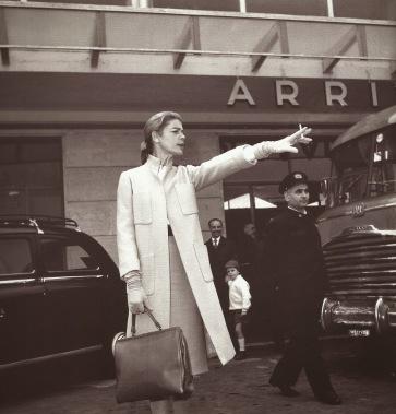 Lauren Bacall in Rome, 1960
