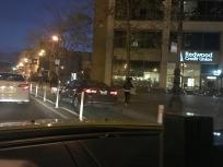 Market Street - bike lane violation