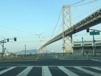 The Bay Bridge from Harrison