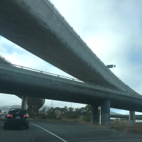 380 overpass on 101