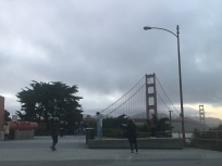 Golden Gate Bridge from Lincoln
