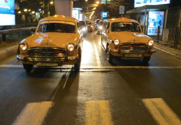 Calcutta-Taxis-India