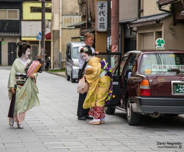 Geisha-Taxi-Japan