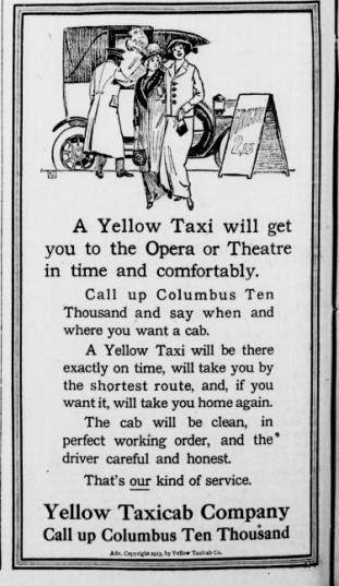 New-York-Tribune-November-17-1913-ad-for-yellow-cab-company1