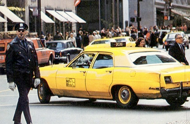 nyc-cop-taxi-vintage-street-scene