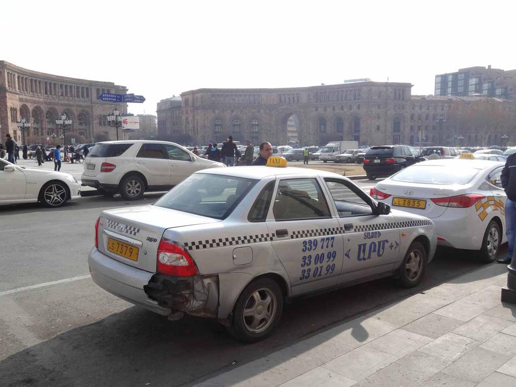 Taxi-Yerevan-Armenia