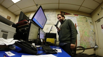 Ben Valis working the National/Veterans Dispatch Radio