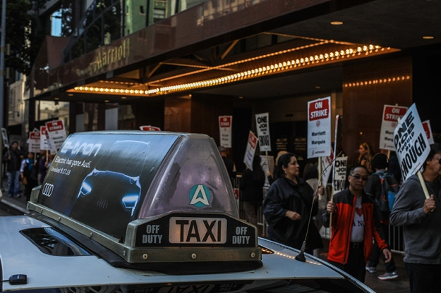 taxi-strikers-Marriott-Marquis-by-Douglas-O'Connor-web