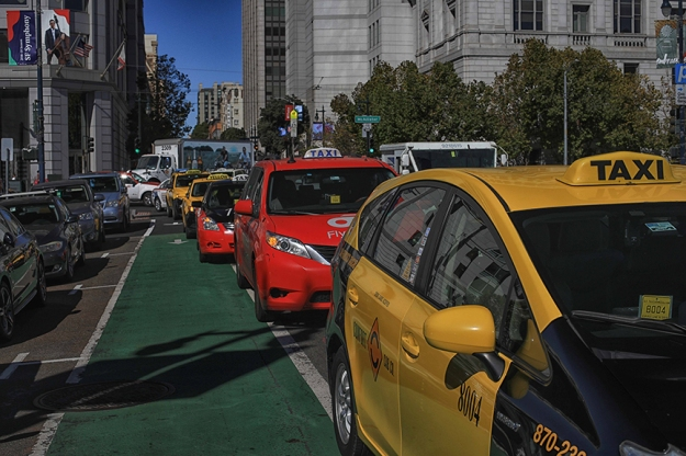taxi-protest-city-hall-by-Douglas-O'Connor-web
